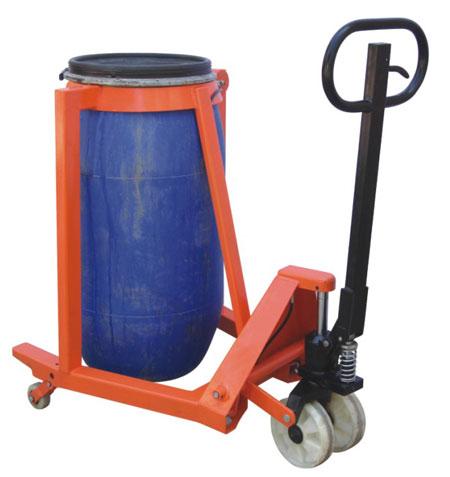 诺力油桶搬运车dp叉车托盘车手动液压搬运车手推油桶